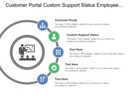 Customer Portal Custom Support Status Employee Timesheets Invoice Templates