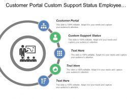 Customer Portal Custom Support Status Employee Timesheets Invoice Templates