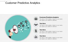 Customer Predictive Analytics Ppt Powerpoint Presentation Inspiration Layout Ideas Cpb