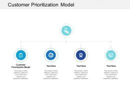 Customer Prioritization Model Ppt Powerpoint Presentation Infographics Background Cpb