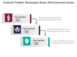 customer_problem_rectangular_boxes_with_downward_arrows_Slide01