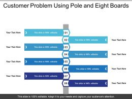 Customer Problem Using Pole And Eight Boards