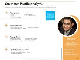Customer Profile Analysis Ppt Powerpoint Presentation Ideas Samples