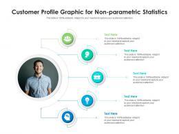 Customer Profile Graphic For Non Parametric Statistics Infographic Template