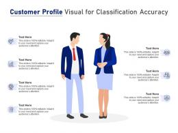 Customer Profile Visual For Classification Accuracy Infographic Template