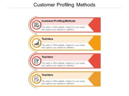 Customer Profiling Methods Ppt Powerpoint Presentation Portfolio Visual Aids Cpb