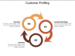 Customer Profiling Ppt Powerpoint Presentation Gallery Infographic Template Cpb