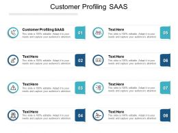 Customer Profiling SAAS Ppt Powerpoint Presentation Layouts Slide Portrait Cpb