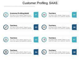 Customer Profiling SAAS Ppt Powerpoint Presentation Layouts Slide Portrait Cpb