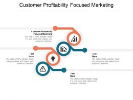 Customer Profitability Focused Marketing Ppt Powerpoint Presentation Outline Cpb