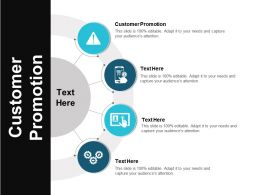 Customer Promotion Ppt Powerpoint Presentation File Elements Cpb