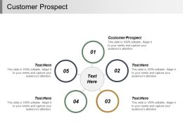 Customer Prospect Ppt Powerpoint Presentation Infographic Template Styles Cpb
