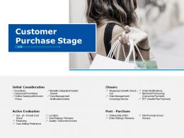 Customer Purchase Stage Ppt Powerpoint Presentation Gallery Diagrams
