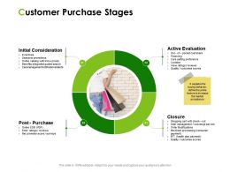 Customer Purchase Stages Ppt Powerpoint Presentation File Outline
