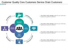 Customer Quality Core Customers Service Drain Customers