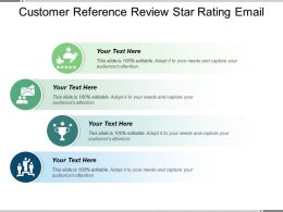 Customer Reference Review Star Rating Email