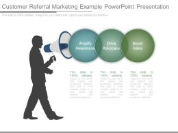 Customer Referral Marketing Example Powerpoint Presentation