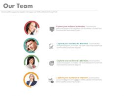 Customer Relation Management Team With Professionals Powerpoint Slides