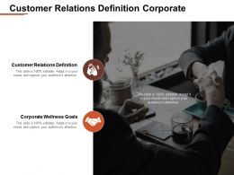 Customer Relations Definition Corporate Wellness Goals Strategy Branding Cpb