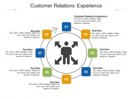 Customer Relations Experience Ppt Powerpoint Presentation Outline Format Ideas Cpb