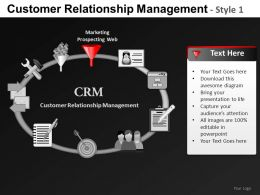 Customer Relationship 2 Powerpoint Presentation Slides DB