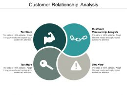 Customer Relationship Analysis Ppt Powerpoint Presentation Icon Background Designs Cpb