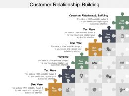 Customer Relationship Building Ppt Powerpoint Presentation Ideas Graphics Design Cpb