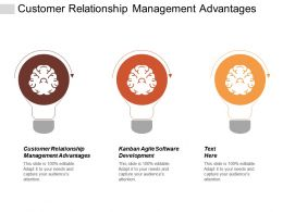 Customer Relationship Management Advantages Kanban Agile Software Development Cpb