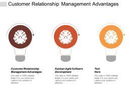 Customer Relationship Management Advantages Kanban Agile Software Development Cpb