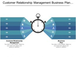 Customer Relationship Management Business Plan Social Security Employee Engagement Cpb