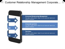 Customer Relationship Management Corporate Sponsor Investments Strategies Global Opportunity Cpb