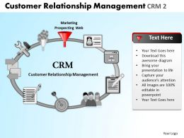 Customer Relationship Management Crm 2 Powerpoint Slides And Ppt Templates DB