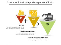 Customer Relationship Management Crm Marketing Business