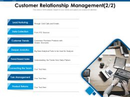Customer Relationship Management Deeper Analytics Ppt Powerpoint Presentation Icon Format Ideas