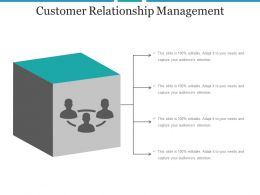 Customer Relationship Management Example Ppt Presentation