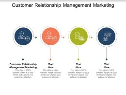 Customer Relationship Management Marketing Ppt Powerpoint Presentation Model Professional Cpb