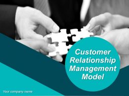Customer Relationship Management Model Powerpoint Presentation Slides