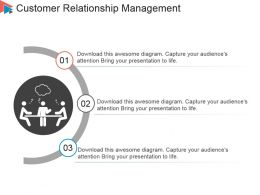 Customer Relationship Management Powerpoint Slide Graphics