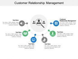 Customer Relationship Management Ppt Powerpoint Presentation File Slides Cpb