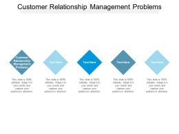 Customer Relationship Management Problems Ppt Powerpoint Presentation Styles Outfit Cpb