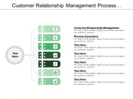 Customer Relationship Management Process Assurance Administrative Service Technology Consulting