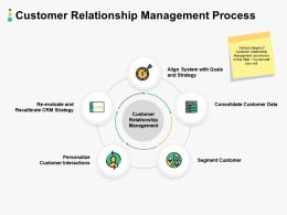 Customer Relationship Management Process Ppt Powerpoint Objects