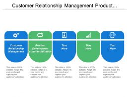Customer Relationship Management Product Development Commercialization Retune Rework Replays