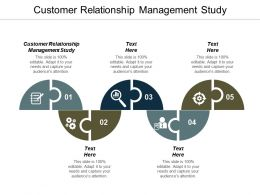Customer Relationship Management Study Ppt Powerpoint Presentation Professional Backgrounds Cpb