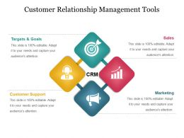 Customer Relationship Management Tools Powerpoint Themes
