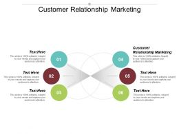 Customer Relationship Marketing Ppt Powerpoint Presentation File Information Cpb