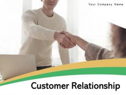 Customer Relationship Marketing Strategies Business Framework Vision Engagement