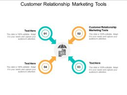 Customer Relationship Marketing Tools Ppt Powerpoint Presentation Ideas Example Introduction Cpb