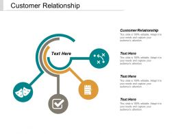 Customer Relationship Ppt Powerpoint Presentation Ideas Brochure Cpb