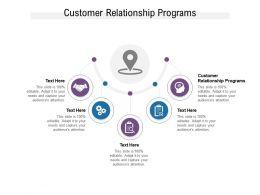 Customer Relationship Programs Ppt Powerpoint Presentation Layouts Design Ideas Cpb